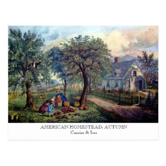 Postcard - AMERICAN HOMESTEAD: Autumn