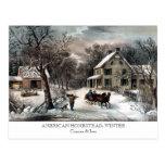 Postcard - AMERICAN HOMESTEAD: Winter