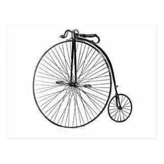 Postcard - Antique Bicycle