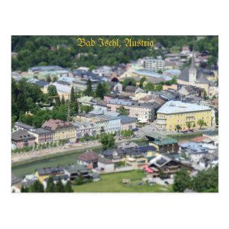 Postcard Bad Ischl, Salzkammergut, Austria