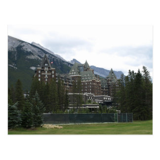 Postcard Banff Springs Hotel, Alberta, Canada