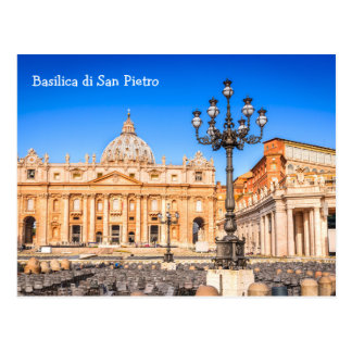 Postcard Basilica San Pietro