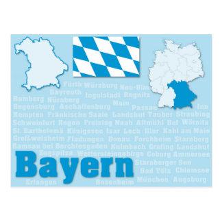 """Postcard """"Bayern"""""""
