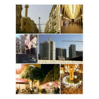 Postcard Beirut Central District, Lebanon