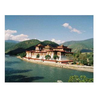 Postcard Bhutan, Punakha Dzong
