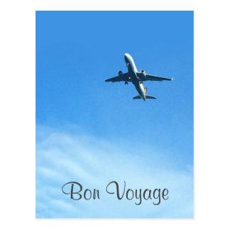 Postcard - Bon Voyage - Gute Reise