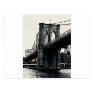 Postcard: Brooklyn Bridge Postcard