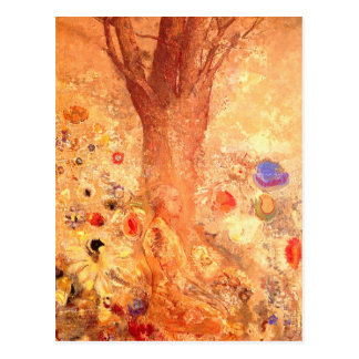 Postcard: Buddha in His Youth by Odilon Redon Postcard