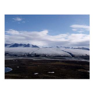 Postcard Bylot Island Glacier, Nunavut, Canada