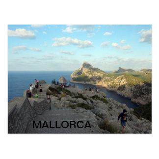 postcard Cabo de Formentor, in Majorca