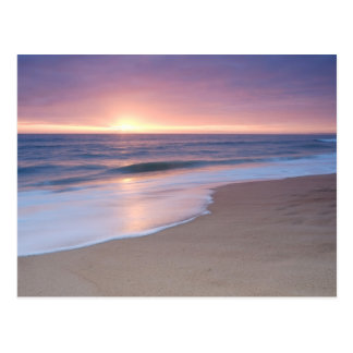 PostCard: Calm Beach Waves. Algarve Portugal Postcard