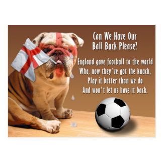 Postcard - Can We Have Our Ball Ba... - Customized