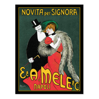 Postcard Cappiello Advertising Art