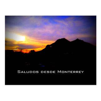 Postcard Card Monterrey