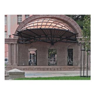 POSTCARD - Chico Downtown City Plaza
