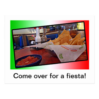 Postcard- Chips and Salsa Postcard