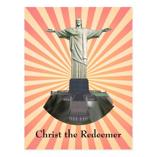 Postcard: Christ the Redeemer Statue Postcard