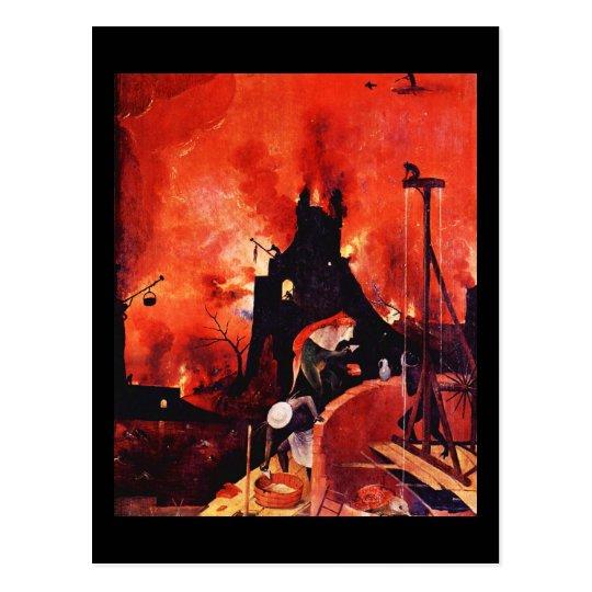 Postcard-Classic Art-Bosch 7 Postcard