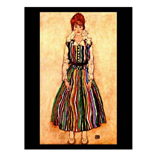 Postcard-Classic/Vintage-Egon Schiele 13 Postcard