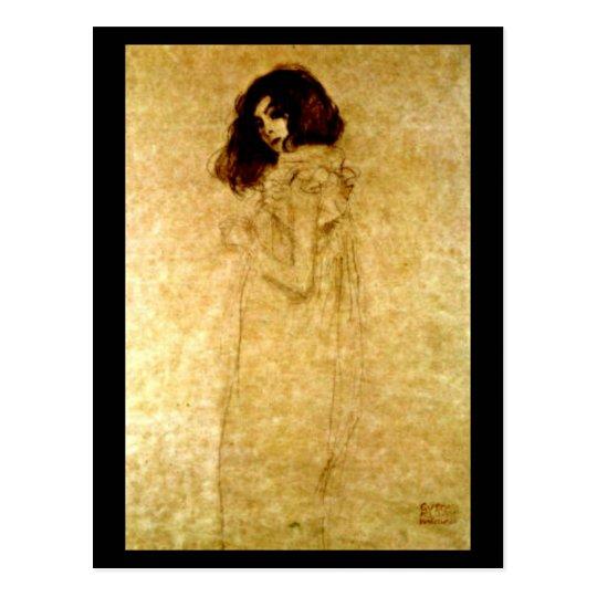 Postcard-Classic/Vintage-Gustav Klimt 3 Postcard
