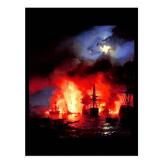 Postcard-Classic/Vintage-Ivan Aivazovsky 4 Postcard