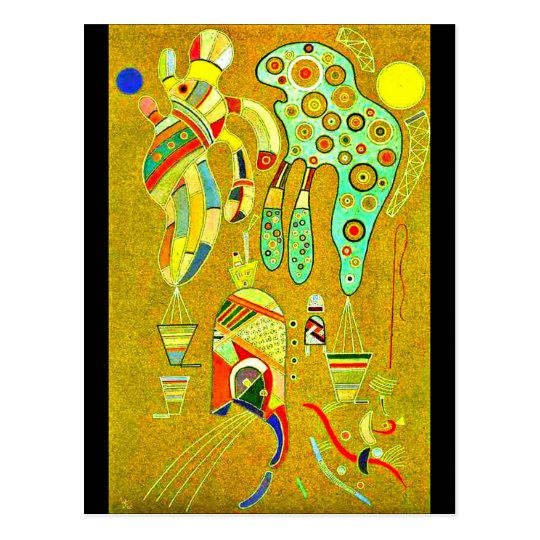Postcard-Classic/Vintage-Wassily Kandinsky 25 Postcard