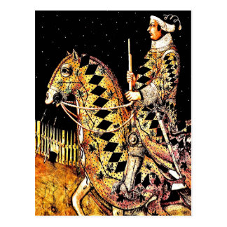 "Postcard: ""Commander On Horseback"" Postcard"