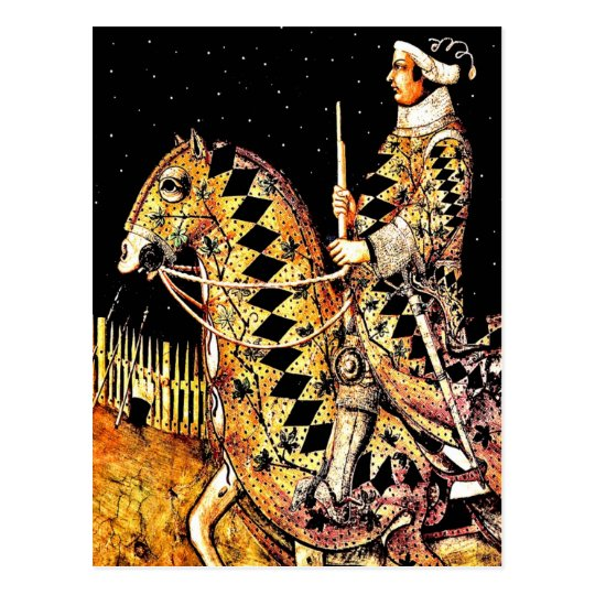 "Postcard: ""Commander On Horseback"" Postcard"