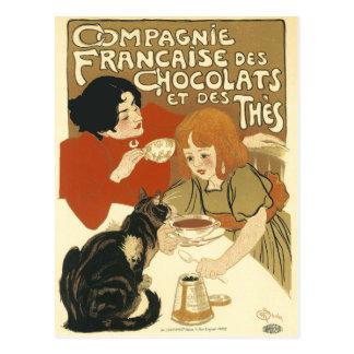Postcard: Compagnie Francaise des Chocolats Postcard