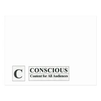 Postcard Conscious Content