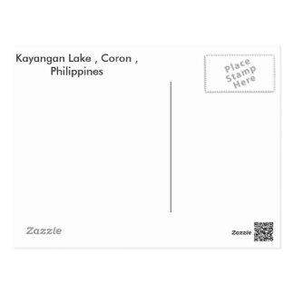 Postcard ,Coron Philippines