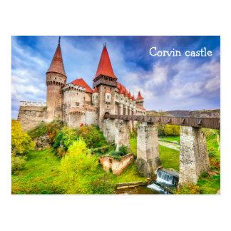 Postcard  Corvin castle