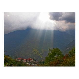 Postcard Door to Heaven, Trongsa, Bhutan
