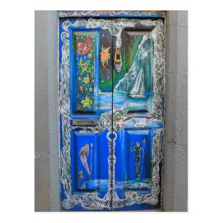 Postcard - Doors of Madeira