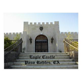 Postcard: Eagle Castle, Paso Robles, CA Postcard