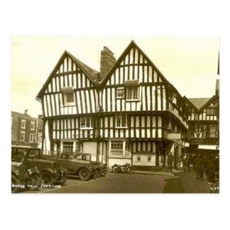 Postcard, Evesham, Worcestershire, 1937 Postcard