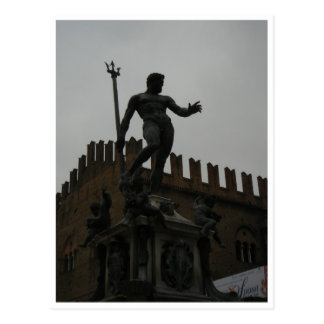 Postcard - Fontana del Nuttuno, Bologna, Italy