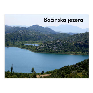 postcard for Bacinska moor, Croatia
