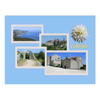 postcard for Lubenice, Cres, Croatia