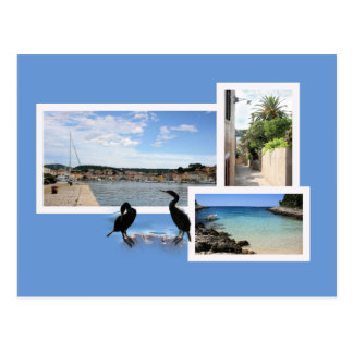 postcard for Mali Losinj, Croatia