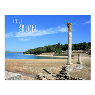 postcard for National park Brioni, Croatia