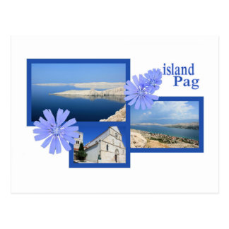 Postcard for Pag, Croatia