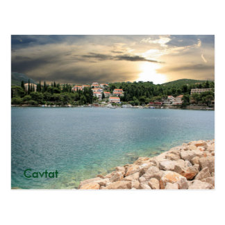 postcard for Zaton near Dubrovnik, Croatia