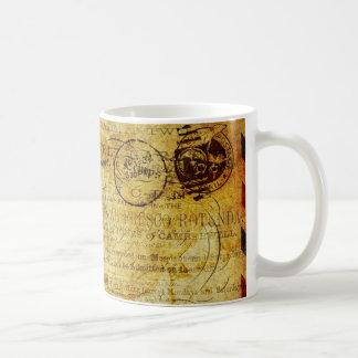 Postcard Français Coffee Mug