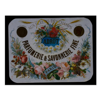 Postcard French soap