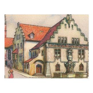 Postcard - Friedrichshafen, Germany