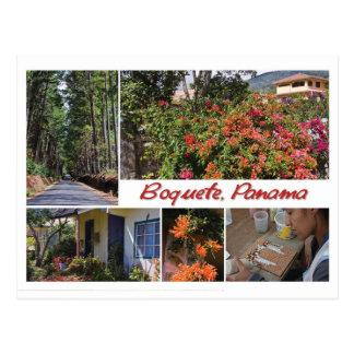 Postcard from Boquete, Panama
