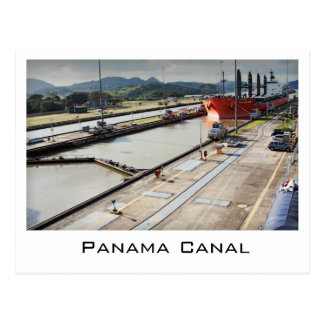 Postcard from Panama Canal