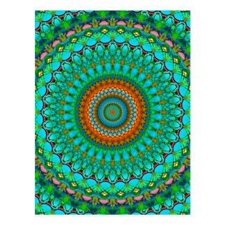 Postcard Geometric Mandala G388