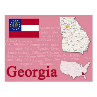 "Postcard ""Georgia"""